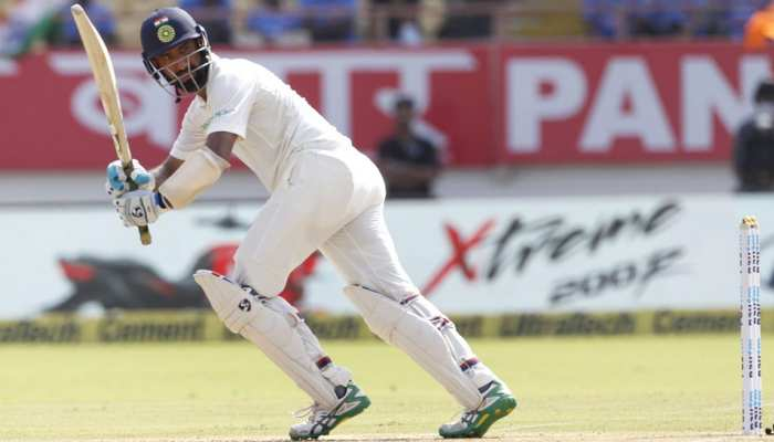 INDvsWI, 1st Test Day 1: रहाणे ने ठोका अर्धशतक, भारत की लड़खड़ाती पारी को संभाला