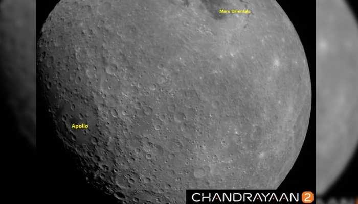 चंद्रयान-2 ने चांद की पहली तस्वीर भेजी, देखिए चांद का खूबसूरत नजारा