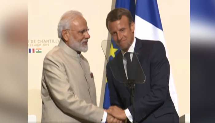 आतंकवाद और अंतरिक्ष क्षेत्र में भी साथ काम करेंगे भारत-फ्रांस, PM मोदी और राष्ट्रपति मैक्रों के बीच सहमति