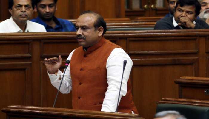 दिल्ली विधानसभा में नेता प्रतिपक्ष विजेंद्र गुप्ता पूरे सत्र के लिए निलंबित