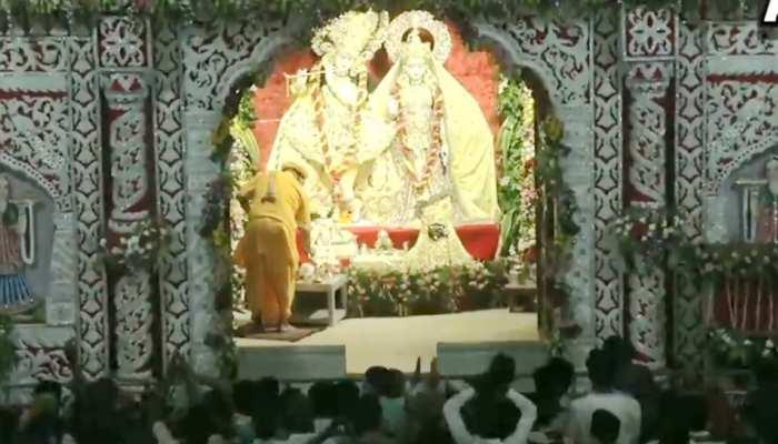 VIDEO: जन्माष्टमी पर सुबह-सुबह यहां देखिए मथुरा के श्रीकृष्ण जन्मभूमी मंदिर की मनोरम आरती