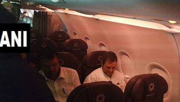 प्रतिनिधिमंडल के साथ श्रीनगर एयरपोर्ट पहुंचे राहुल गांधी को वापस दिल्ली भेजा गया