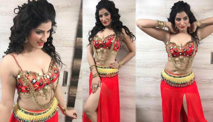 Bhojpuri actress Poonam Dubey new photoshoot viral on social media