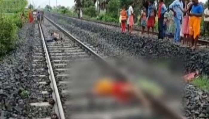 बिहार: चार बच्चों की साथ ट्रेन के आगे कूदी महिला, मां समेत तीन बच्चों की मौत