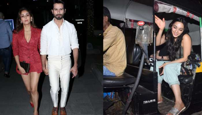 Shahid kapoor spot with wife mira, see photos
