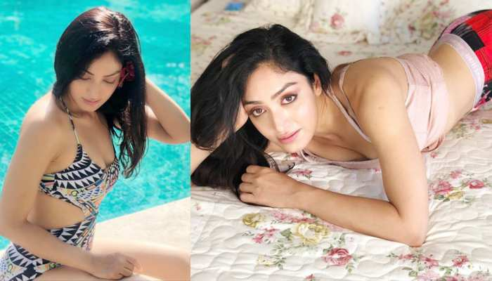 Khushali Kumar has become popular before appearing in films, see her GLAMOROUS PICS