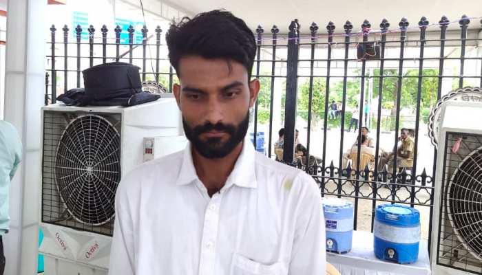 राजस्थान छात्रसंघ चुनाव में उतरा दृष्टिबाधित छात्र, बताया राजनीति में आने का कारण