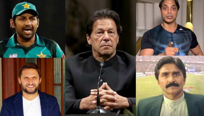 कश्मीरियों को भड़काने में नाकाम हुए पाकिस्तानी नेता, PM इमरान ने क्रिकेटरों को दिया यह ठेका!