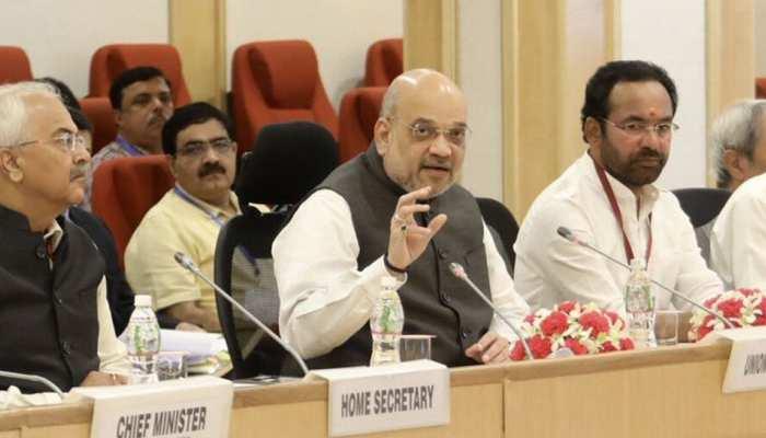 जम्मू कश्मीर पुनर्गठन एक्ट को लागू करने को लेकर गृह मंत्रालय की हाईलेवल मीटिंग