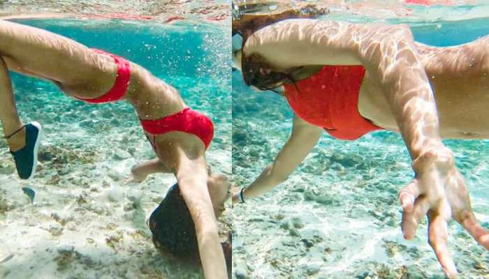 These underwater photos of ERICA FERNANDES viral on internet
