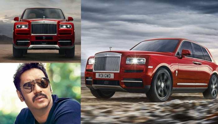 Ajay Devgn New Car Rolls Royce Cullinan in pics
