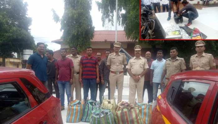विदर्भ: चंद्रपुर में कार बुकिंग एप से बुक कार से ले जा रहे थे अवैध शराब, पुलिस ने दबोचा