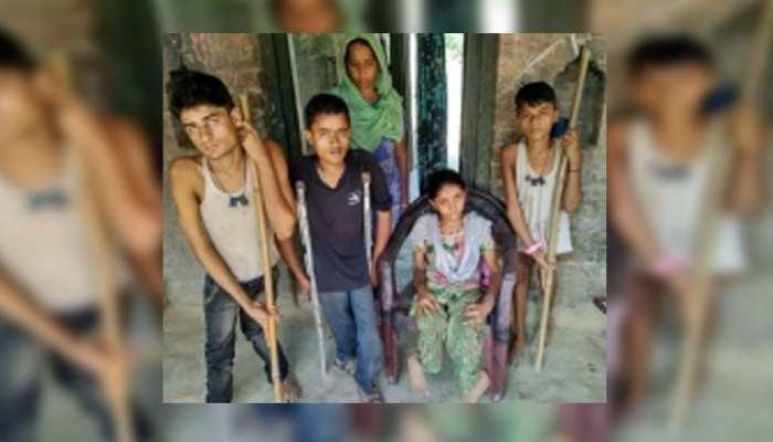 बाराबंकी: परिवार के सभी बच्चों ने पी थी '2 बूंद जिंदगी की', फिर भी हो गया पोलियो