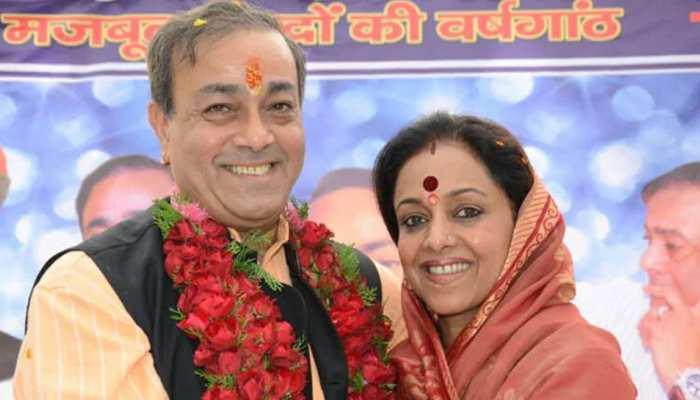 कांग्रेस छोड़कर BJP में शामिल हुए संजय सिंह का अमेठी में जोरदार स्वागत