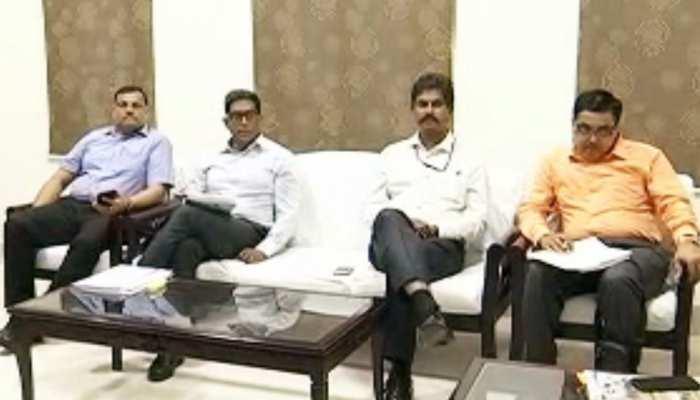केंद्रीय टीम की बिहार के अधिकारियों के साथ बैठक, बाढ़ से होने वाले नुकसान का आकलन
