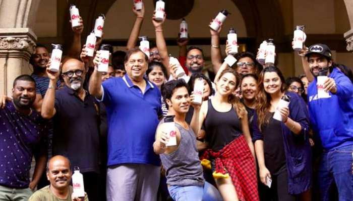 'कुली नंबर 1' की टीम ने किया पीएम मोदी का सपोर्ट, वरुण की फिल्म का सेट हुआ प्लास्टिक फ्री!