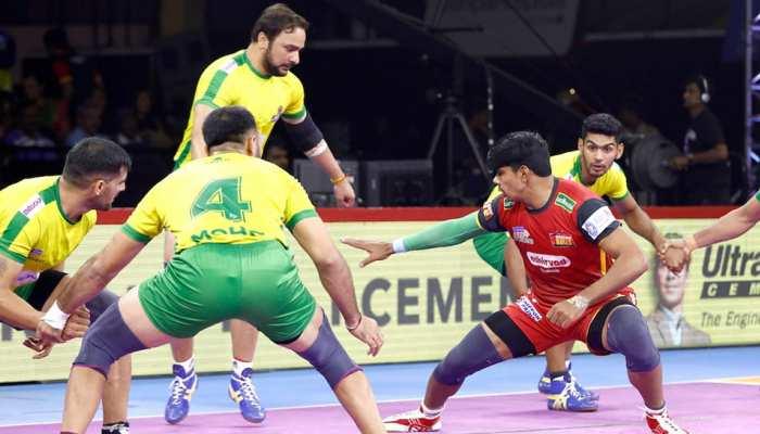PKL 2019: बेंगलुरू बुल्स ने अपना पहला घरेलू मैच जीता, तमिल थलाइवाज को दी 6 अंकों से मात