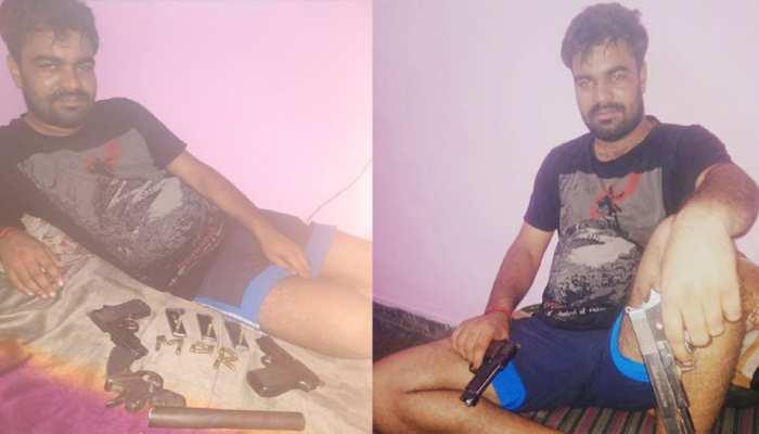 दिल्लीः पुलिस के हत्थे चढ़ा हरियाणा का कुख्यात अपराधी जगदीप उर्फ मोनी मोर