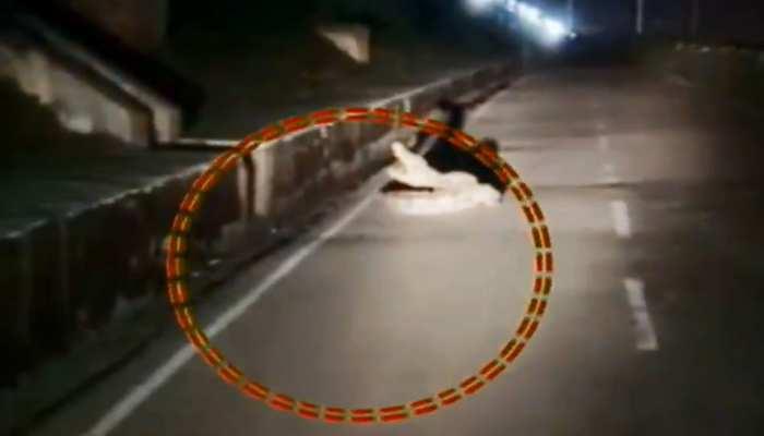 कोटा शहर में सड़क पर घूमता दिखा 6 फीट का मगरमच्छ, देखें VIDEO