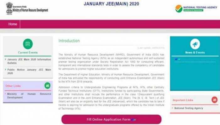 NTA JEE Main 2020 : JEE मेन्स के रजिस्ट्रेशन शुरू, जानिए आवेदन से जुड़ी जानकारी