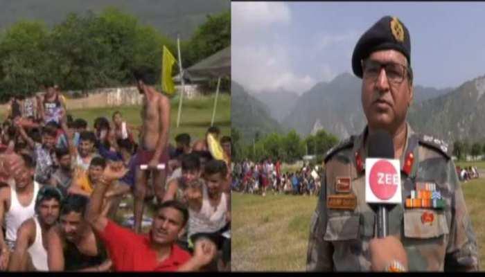 सेना की भर्ती में घाटी के युवाओं को हुजूम, 29 हजार युवाओं ने किया है नामांकन