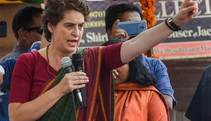प्रियंका गांधी किया वार कहा- 'अर्थव्यवस्था में ऐतिहासिक मंदी है, BJP इसे स्वीकार करें'