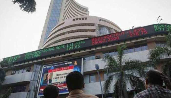 मिले-जुले रुख के साथ खुले शेयर बाजार में गिरावट जारी, सेंसेक्स 22 अंक टूटा