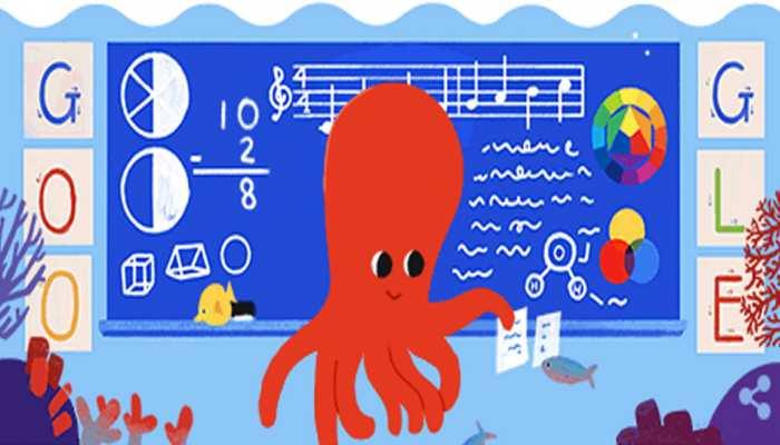 टीचर्स डे पर एनिमेटेड Doodle बनाकर दिया Google ने दिया ये खास मैसेज