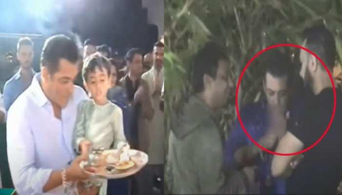 VIDEO: सलमान खान ने बप्पा की पूजा में की स्मोकिंग, नाराज लोगों ने किया ट्रोल