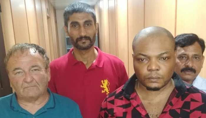 दिल्ली के एक होटल में NCB ने मारा छापा, दो विदेशी नागरिक कोकीन के साथ गिरफ्तार