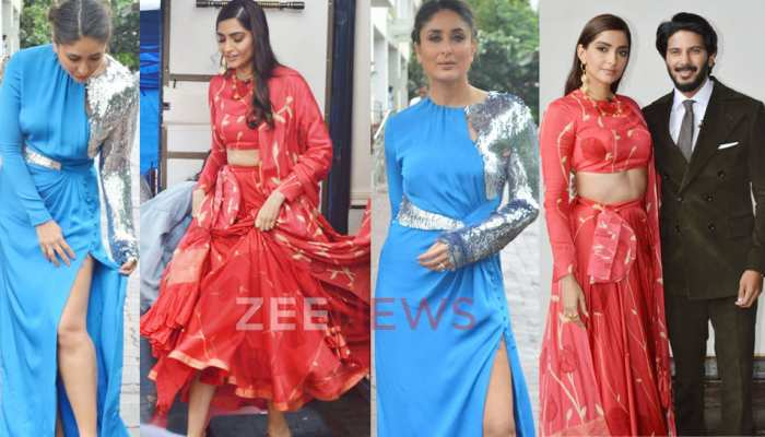 Sonam Kapoor arrives to promote her film on the set of 'Dance India Dance'