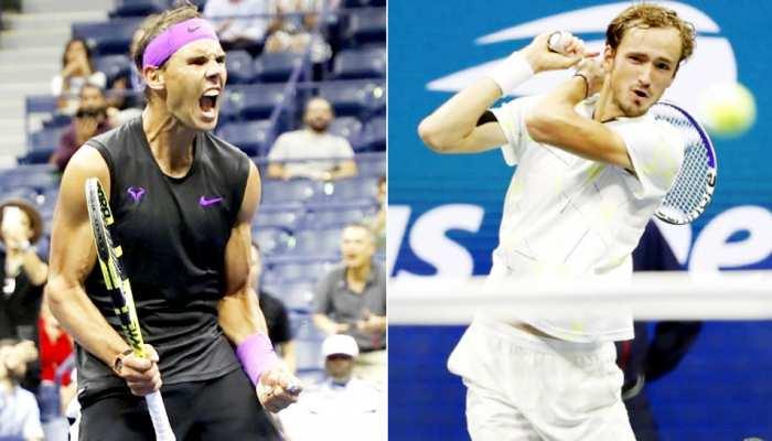 US Open: नडाल पांचवीं बार फाइनल में, पहली बार के रूसी फाइनलिस्ट से होगा मुकाबला