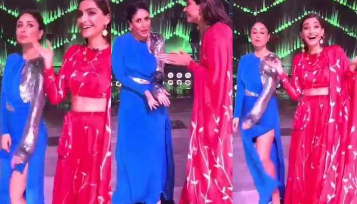 VIDEO: DID के सेट पर जब मिलीं दो 'वीरे', यूं किया करीना-सोनम ने मस्तीभरा Dance