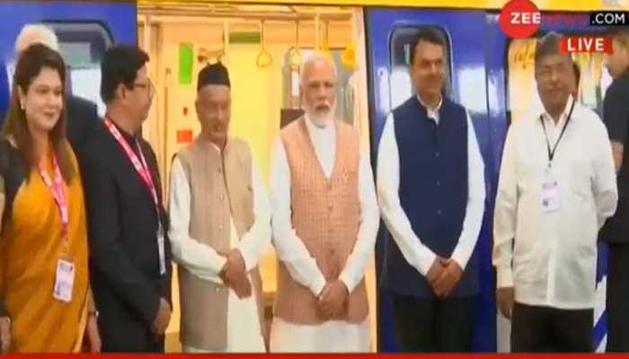 PM मोदी ने मुंबई में नई मेट्रो लाइन और स्वदेशी मेट्रो कोच का उद्घाटन किया