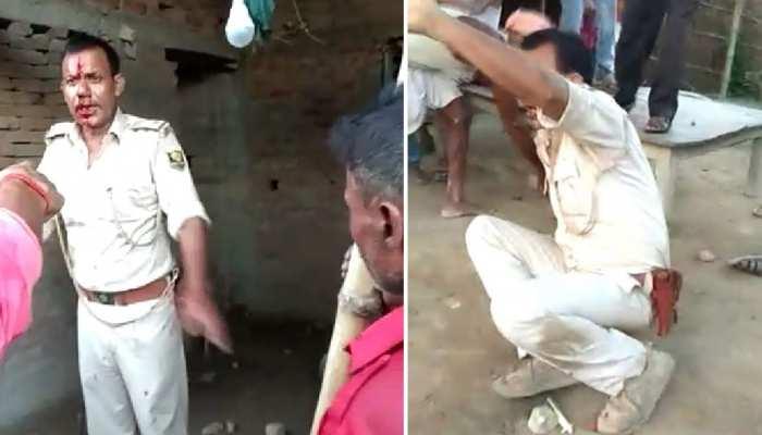 मुजफ्फरपुर में पुलिस कार्यशैली से नाराज ग्रामीणों ने ASI समेत दो पुलिसकर्मी को दौड़ा-दौड़ाकर पीटा