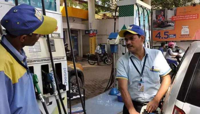 लगातार चौथे दिन पेट्रोल की कीमत में राहत, आज डीजल में कोई बदलाव नहीं