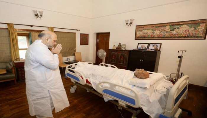 राम जेठमलानी के निधन पर अमित शाह ने जताया शोक, कहा- हमने खो दिया एक महान वकील, महान इंसान
