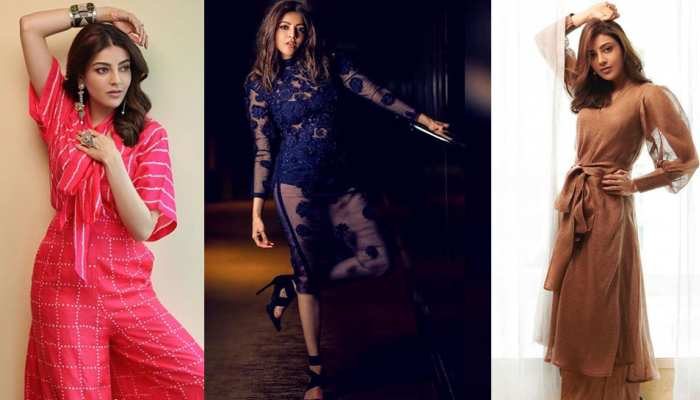 kajal aggarwals pink dress photo shoot viral on internet check hd pics
