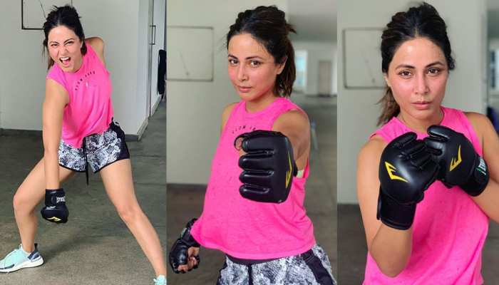 Boxer Hina Khan flaunts her bold style and youll be amazed to view photos