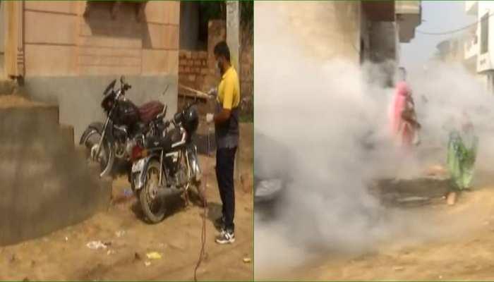 जोधपुर: कांगो फीवर के दस्तक के बाद स्वास्थ्य विभाग सतर्क, शहर में फॉगिंग जारी
