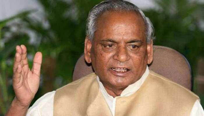 राजस्थान के पूर्व राज्यपाल कल्याण सिंह ने ली भाजपा की सदस्यता