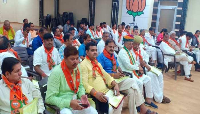 टोंक: निकाय चुनाव को लेकर बीजेपी कसी कमर, कार्यकर्ताओं को दिया जीत का मंत्र