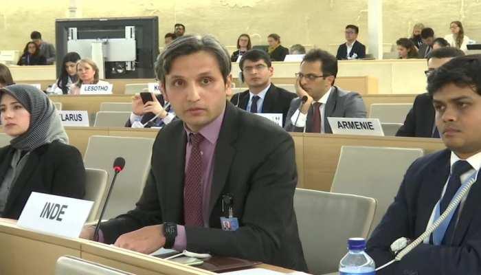UNHRC में भारत का PAK को करारा जवाब, 'आपने अल्पसंख्यकों के साथ कैसा सलूक किया, सब जानते हैं'
