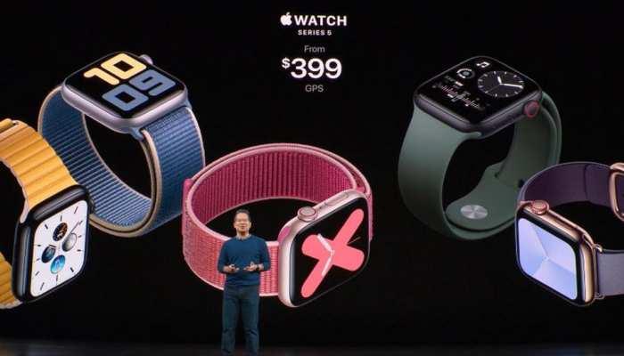 iPhone 11 सीरीज के साथ लॉन्च हुआ Apple Watch Series 5, जानें क्या है खास