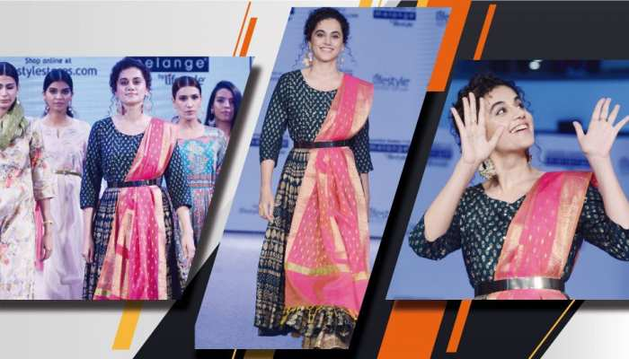Tapsee Pannu during the launch at DLF mall noida