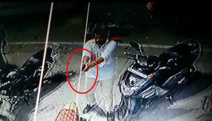 नंद नगरी में 50 लाख रुपये की रंगदारी न मिलने पर सरेआम फायरिंग, CCTV में कैद हुई वारदात