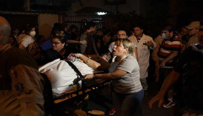 ब्राजील : रियो डि जनेरियो के अस्पताल में आग, 11 की मौत, देखें वीडियो...