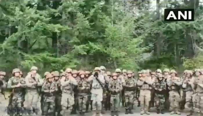 VIDEO: जब असम रेजिमेंट के इस खास गाने पर झूमे अमेरिका के सैनिक
