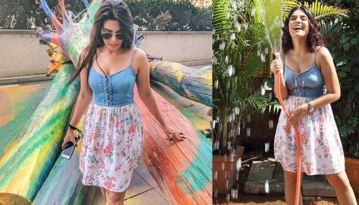 These photos of Pooja Gor viral on social media