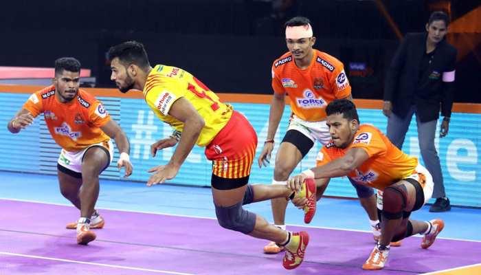 PKL 2019: दबंग दिल्ली ने खुद को टॉप पर रखा बरकरार, गुजरात को दी 4 अंकों से मात